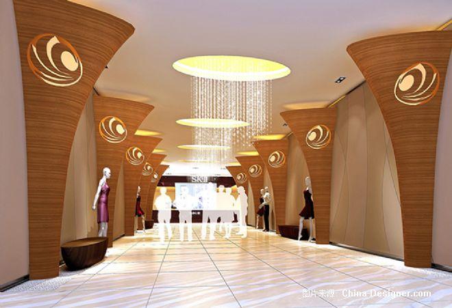 青岛万达广场万千百货-张静的设计师家园-现代,shoppingmall/购物中心