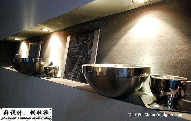 公寓房变办公室---黑白视觉盛宴-由伟壮的设计师家园-现代简约,1-5万,办公室,白色