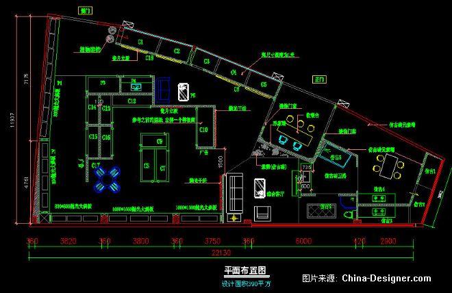 展厅平面图