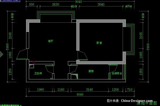 曦城-陈娇的设计师家园-亨特时尚窗饰首届China-Designer全国高校空间设计大赛,5-10万,一居,客厅,现代