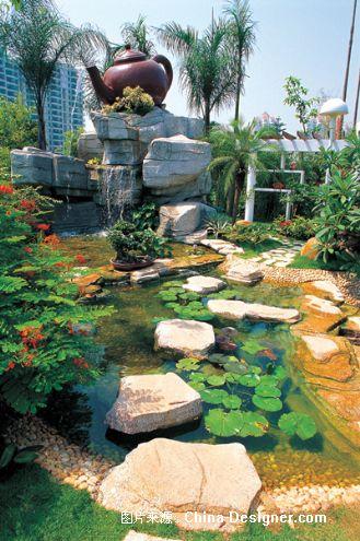中式庭院风格-武汉乐道创景园林景观设计有限公司的设计师家园-武汉园图片