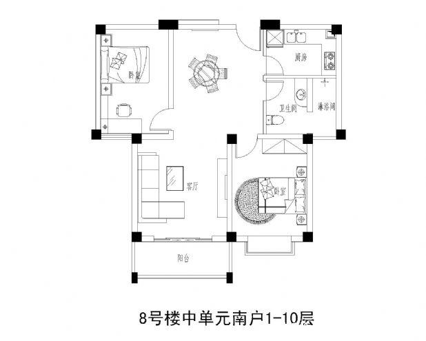 邓县财富世家户型图