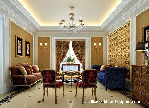 国际花园-高志强的设计师家园-欧式,奢华,黄色