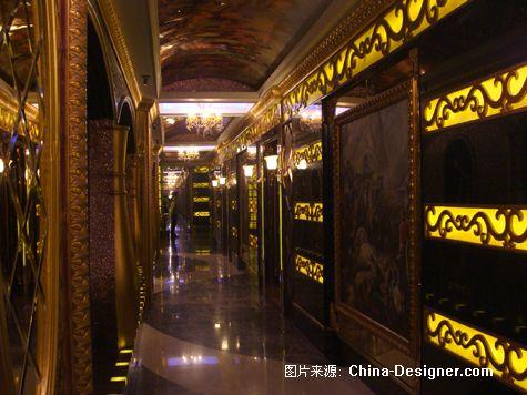 欧式皇家走廊图片