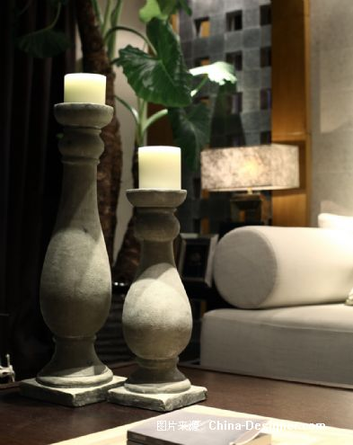 招商地产-江湾城样板间-谢柯的设计师家园-中式