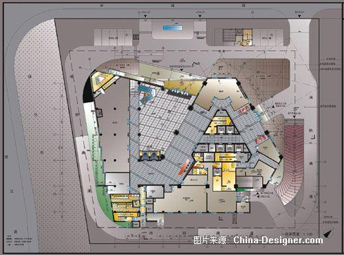 杭州长城大厦-上海罗磊室内设计有限公司的设计师家园-办公室图片
