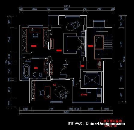 100平复式楼设计图纸