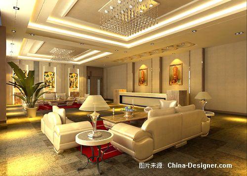 辽阳科泰贸易有限公司办公楼内部装饰设计方案-金波的设计师家园-办公