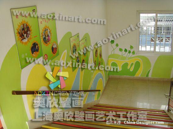幼儿园壁画-杜长辉的设计师家园:::上海壁画装饰家园