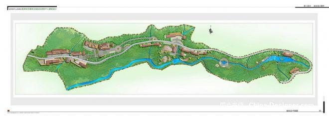 游客服务中心在设计上以景区现有的建筑风格为参考,结合功能要求,力图创造具有深层文化内涵的风景建筑。具体设计出发点如下:(1)合理的功能组织结合场地地形,合理化布局单体。利用现有高差布置平面,争取较少开挖土方,减少施工对风景水土的破坏。(2)组织完善的空间序列,合理布置空间起点,过渡空间,空间终点(观景台),形成完整的空间序列,塑造层次鲜明的建筑层次。(3)建筑融于风景,风景渗透建筑,力图创造具有深层文化内涵的风景建筑。(4)构筑完整的流线体系,合理控制人流及车流的走向。