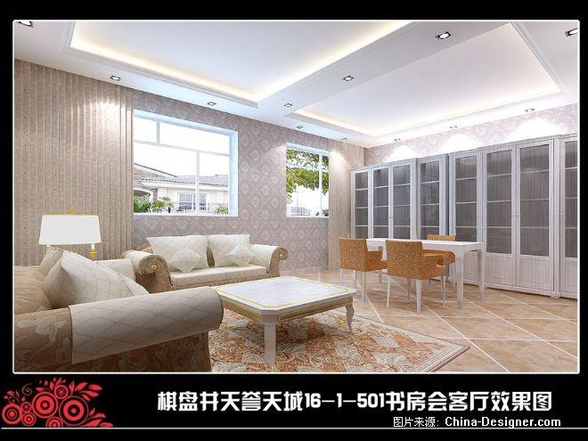 欧式样板间-王元的设计师家园-白色