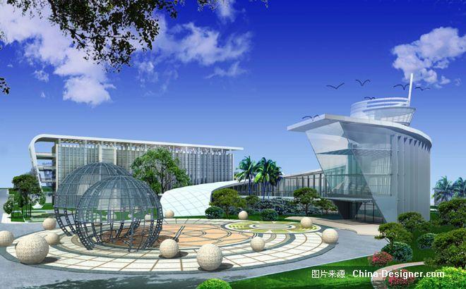 中航通飞珠海新机场园-深圳市博思图环境艺术设计