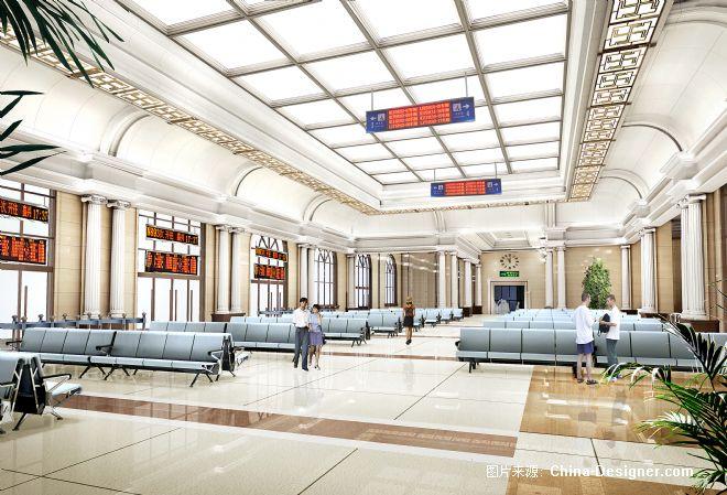 火车站,公共空间,室内装饰
