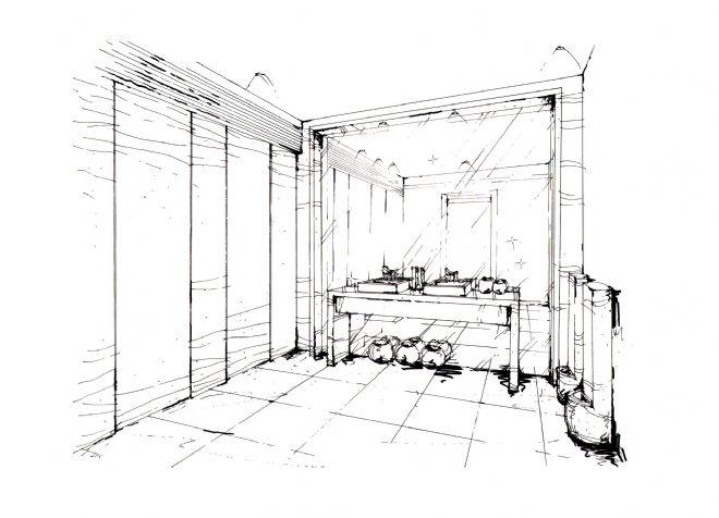 创意公园售楼处手绘效果图-任清泉的设计师家园-现代