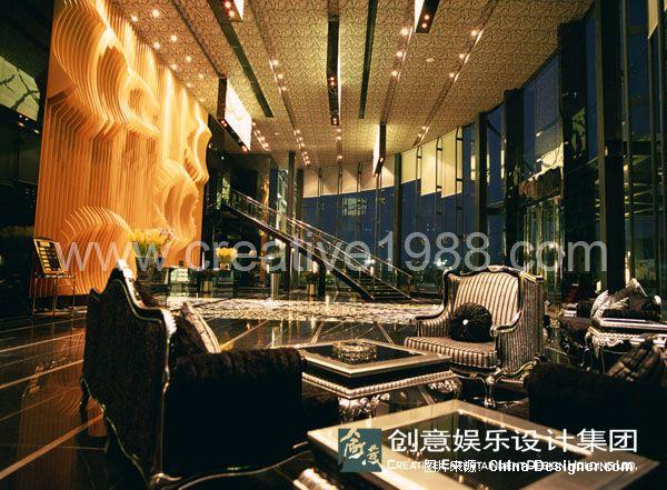 娱乐会所案例1-创意娱乐设计集团的设计师家园图片