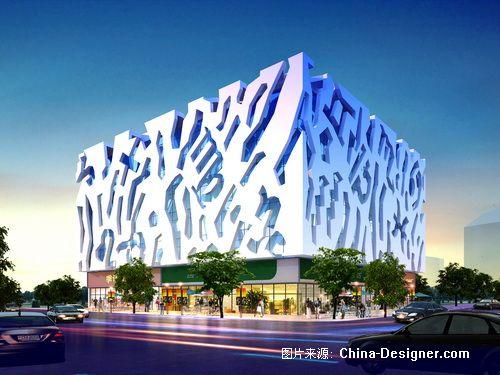 青岛星座物语时尚购物广场-邵红升的设计师家园-购物中心,shopping