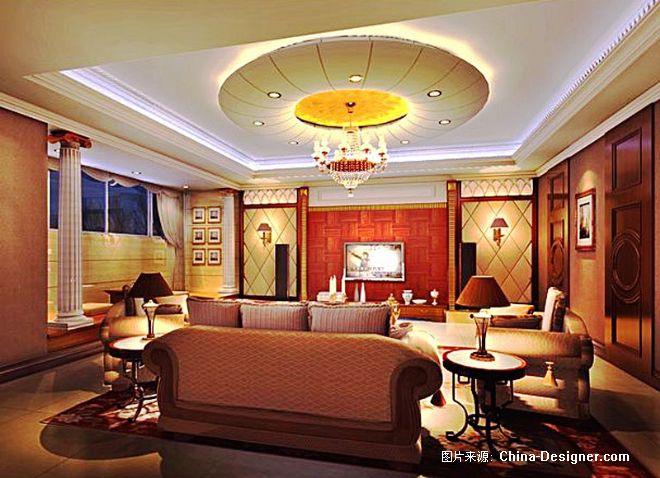 三利宅院别墅-东子的设计师家园-现代,别墅,欧式