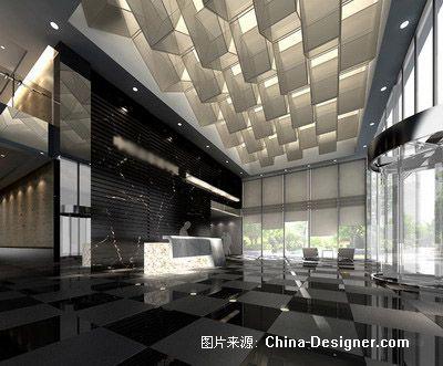 辦公大樓商務樓寫字樓裝修設計公司效果圖-甲一國際