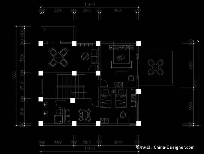 阳光高尔夫小型会所-吕海宁的设计师家园-别墅,现代简约,50-100万