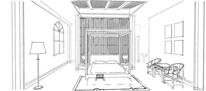 小别墅-伍勇慎的设计师家园-现代,新古典,100-200万,视听间,中式