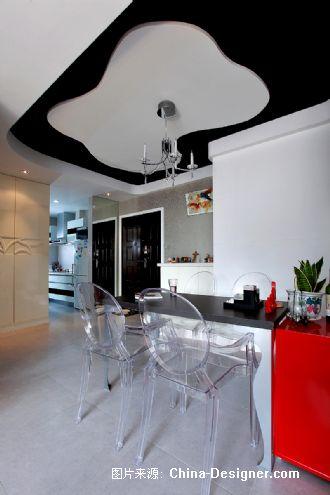 单身公寓之粉色记忆-王健的设计师家园-现代,绚丽,二居