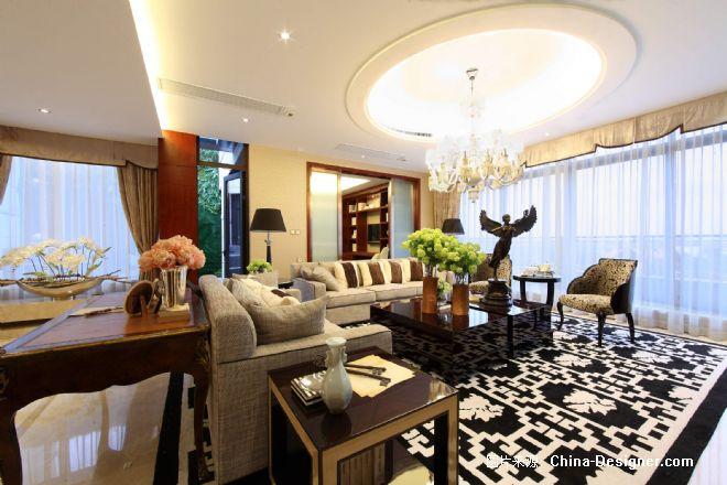 金地天御-吴滨的设计师家园-温馨