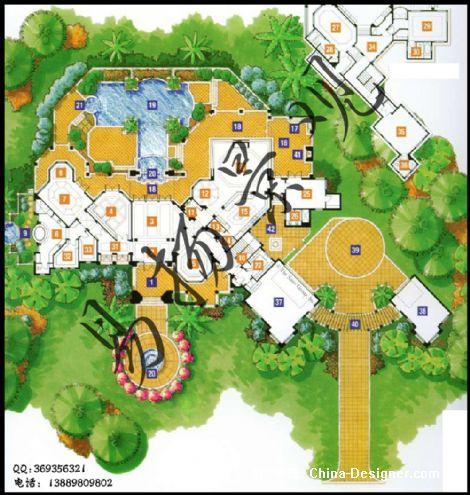 欧式花园设计-沈阳别墅庭院设计施工的设计师家园-花园方案