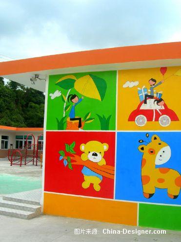 幼儿园喷绘,幼儿园壁画,幼儿园喷绘,幼儿园墙绘-百马盛世的设计师家园