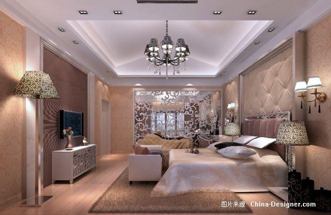 白色欧式主人房