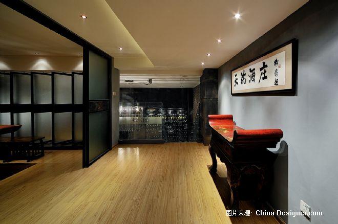 演绎风情空间-施传峰的设计师家园-中式,黑色,客厅,复式,30-50万
