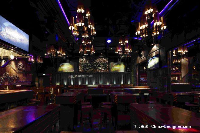 杭州 IN BASE 3 CLUB-朱晓鸣的设计师家园-现代,棕色,200万以上