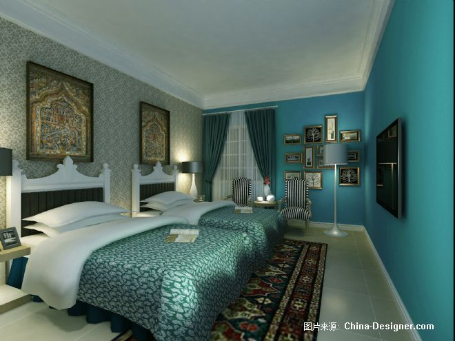 藏族风格设计作品--梦回拉萨自驾酒店-阿森的设计师家园-现代简约藏式图片