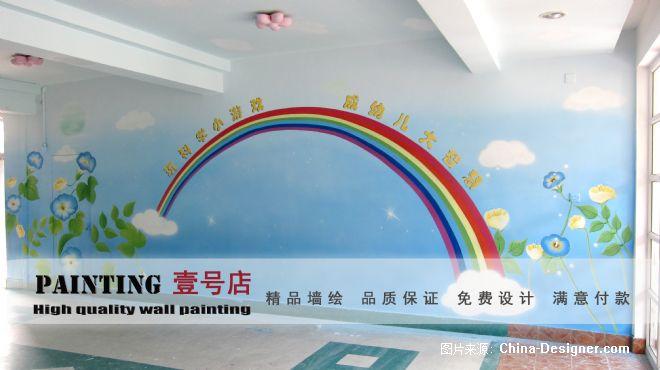 金科苑幼儿园墙面绘画-上海墙体彩绘艺术一号店的