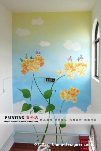 金科苑幼儿园墙面绘画-上海墙体彩绘艺术一号店的设计师家园-旧房改造