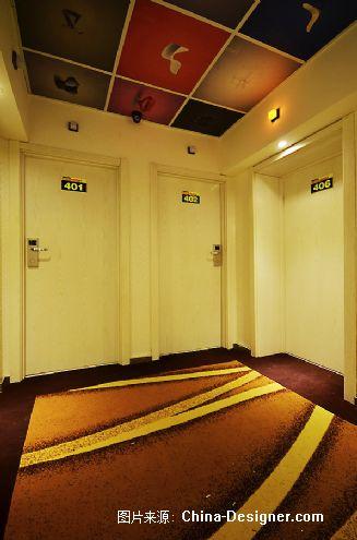 自由空间连锁宾馆-赵加范的设计师家园-经济型酒店,简约,现代