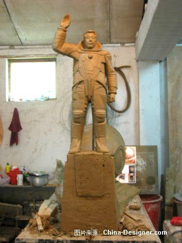 呼和浩特市希望公园杨利伟雕塑-杨强设计的设计师
