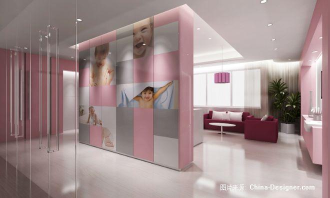 《广州市妇女儿童医疗中》-设计师:林青华