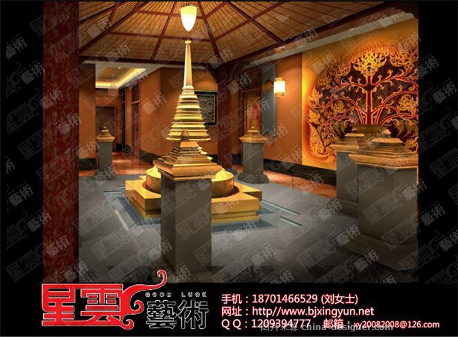 酒店壁画 酒店彩绘 酒店墙画 酒店手绘墙-北京星云艺术公司的设计师