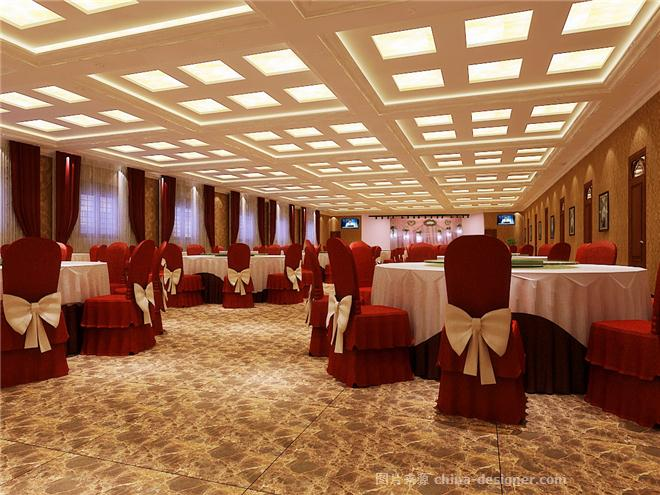 新中式高档酒店设计-河南知名酒店设计公司 二楼宴会厅