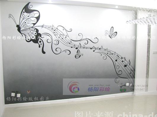 扬州手绘墙 扬州壁画