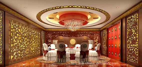 酒楼-三旗建筑装饰工程公司的设计师家园-欧式,中式,中餐厅/中餐馆