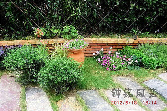 优山美地别墅花园工程