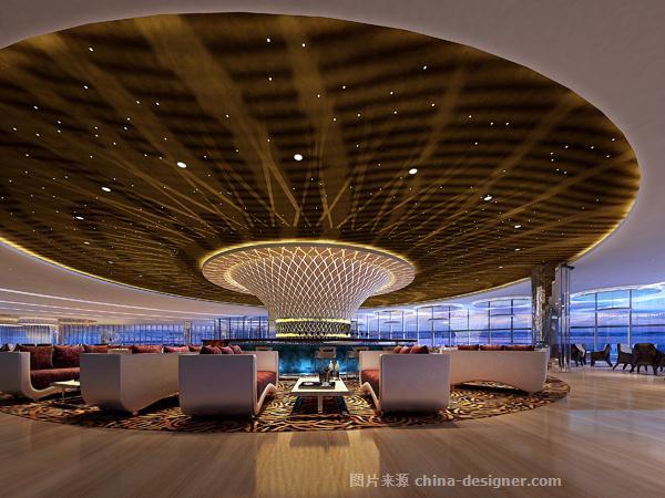 青岛岭海温泉大酒店-任强的设计师家园-现代,商务酒店