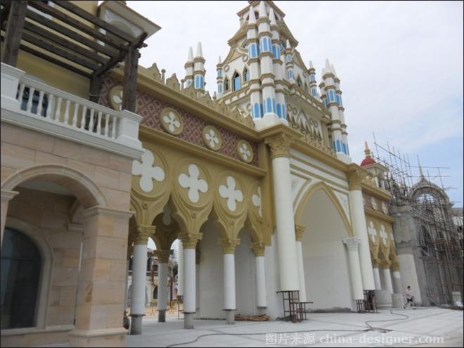 青岛方特梦幻王国之威尼斯水城-刘野的设计师家园-外装