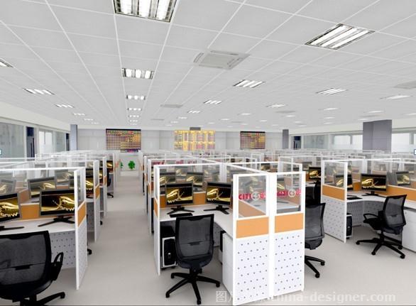 青岛中信万通办公空间-刘野的设计师家园-现代,办公室