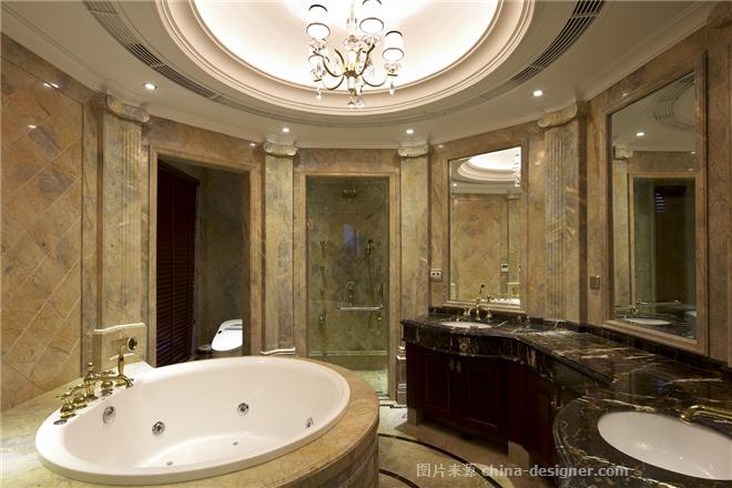 灵昆别墅吴宅-俞建荣的设计师家园-欧式,独栋别墅