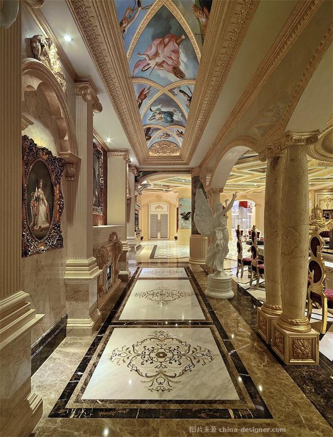 皇室英伦格调-�R治群的设计师家园-古典欧式,别墅售楼处