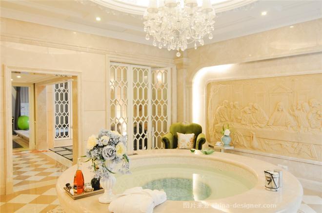 合肥联排别墅新古典样板房-谢瑞雪的设计师家园-新古典主义,欧式,别墅样板间