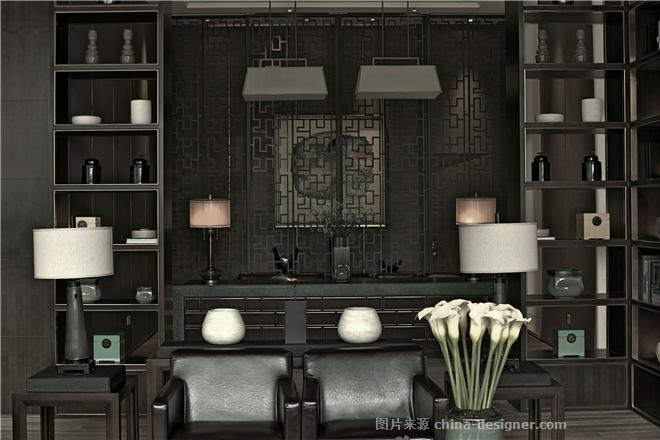 招商 武汉-雍华府销售中心-谢柯的设计师家园-新中式,住宅公寓售楼处