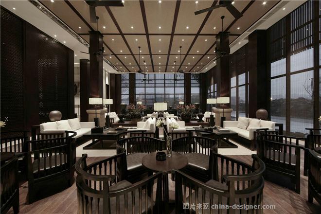 招商(成都)雍华府销售中心-支鸿鑫的设计师家园-新中式,住宅公寓售楼处